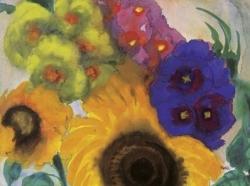 Fleurs d'Emil Nolde