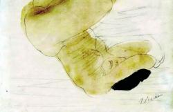 Rodin femme allongée
