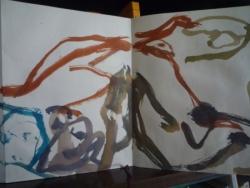 M.A. traces de couleur