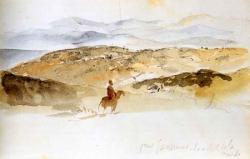 Delacroix carnet de voyage paysage