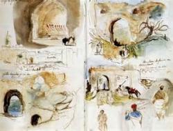 Delacroix carnet de voyage notes