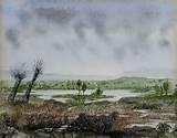 Georges Sand paysage avec saules