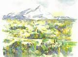 Cezanne Nature morte au melon