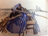 Mathurin Méheut peintre breton. 1882-1958