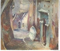 Hubert Robert rue de la Kassbah Alger