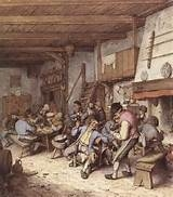 Adrian Van Ostade Tavern