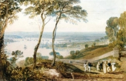 Turner Plymouth vue du Mont Edgumbe