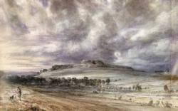 John Constable Old Sarum