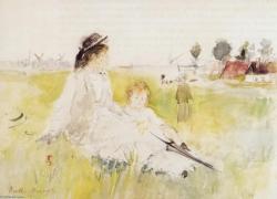 Berthe Morisot fille et enfant