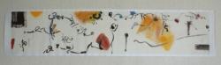 M.A. mouvement aquarelle sur papier chinois