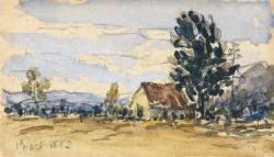 Johan Barthold Jonkind paysage lyonnais