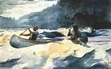 Winslow HOMER peintre américain du XIXe.