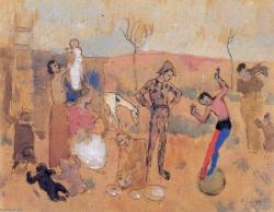 Picasso, famille de jongleurs