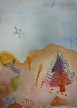 Paysage imaginaire 2