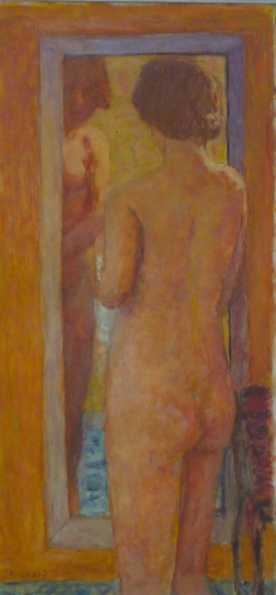 """Bonnard """"Femme à la toilette"""""""