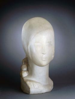 Joseph CSAKY buste jeune fille