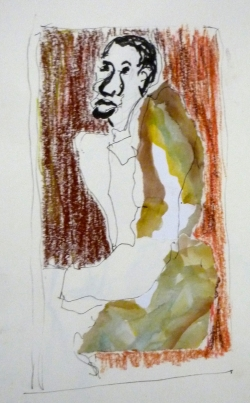 Soutine Grotesque - autoportrait