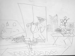 """Vuillard """"Bonnard dans son atelier"""""""