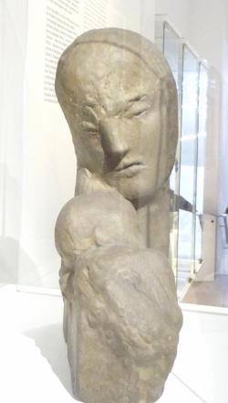 Wilhelm LEHMBRUCK mère et enfant