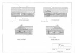 Plans d'élévation maison