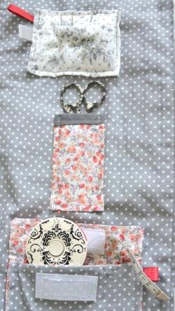 Détails rangements accessoires tricot