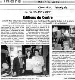 salon du livre à PARIS 2004
