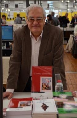Au salon du livre de Limoges en avril 2015