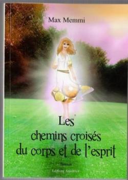 """1ère de couverture du roman """"les chemins croisés d"""