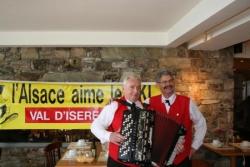 Premiers airs d'accordéon au petit déjeuner