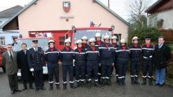 Promotions chez les pompiers de Soppe