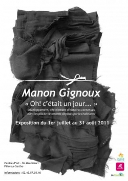 Manon Gignoux Juillet Août 2011
