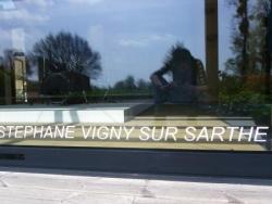 """Stéphane Vigny sur Sarthe"""