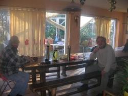 Georges et Fred sur le Lieu de Vie de 'La Louve'