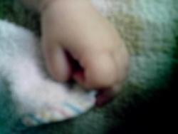 Petite main de petit choubidou