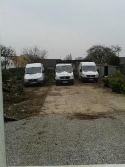 Les camions du terrain