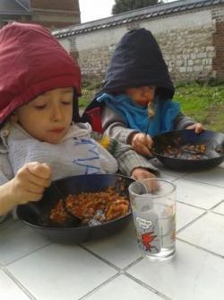Dernier repas dehors