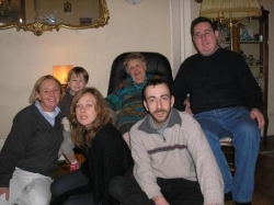 Maman, Manou, Thomas, Simon, Camille
