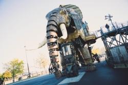 Nantes Les machines de l'île