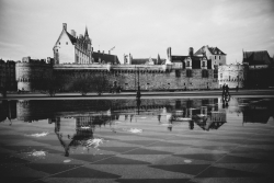 Nantes le miroir d'eau