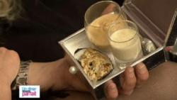Nage d'écrevisse / Velouté de foie gras aux giroll