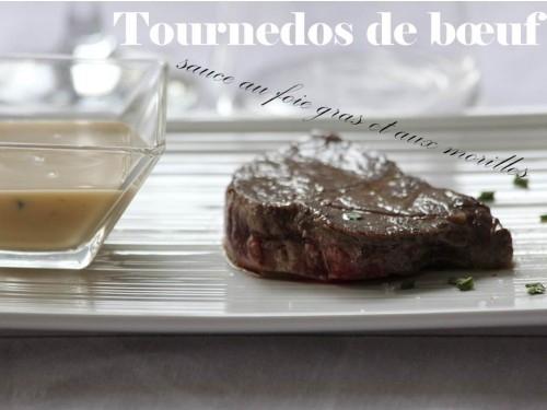 tournedos de bœuf sauce au foie gras et aux morilles my cooking cuisine