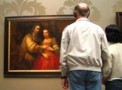 Rembrandt - la fiancée juive - Riskjmuseum