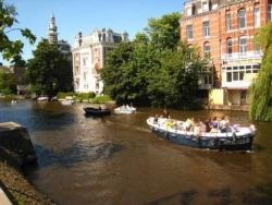 Un canal de la ville