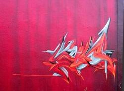 en rose - digue rive droite - 2007