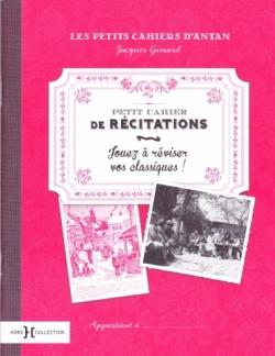 Petit Cahier de Récitations