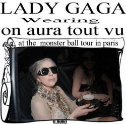 lady gaga wearing on aura tout vu haute couture