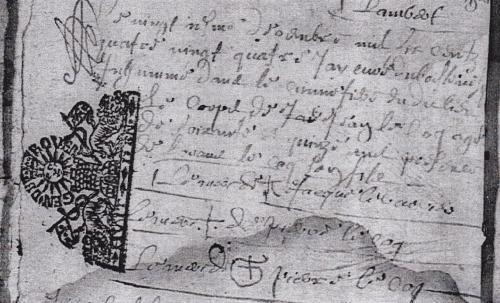 Mais où se cachent les signatures de nos ancêtres ?