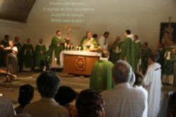 La messe d'installation