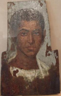 Collection égyptienne : portrait du Ier siècle (2)