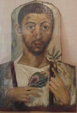 Collection égyptienne : portrait du Ier siècle (1)